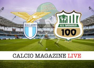 Lazio Sassuolo cronaca diretta live risultato in tempo reale