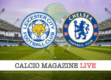 Leicester Chelsea cronaca diretta live risultato in tempo reale