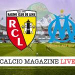 Lens Olympique Marsiglia cronaca diretta live risultato in tempo reale