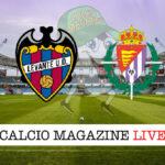 Levante Valladolid cronaca diretta live risultato in tempo reale