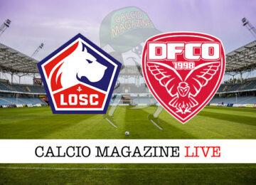Lille Dijon cronaca diretta live risultato in tempo reale