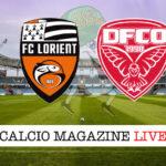 Lorient Dijon cronaca diretta live risultato in tempo reale
