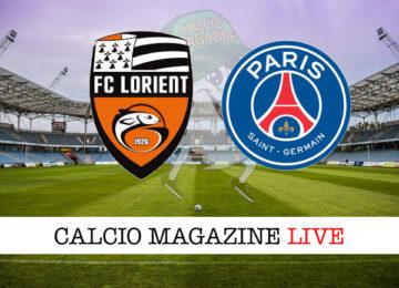 Lorient PSG cronaca diretta live risultato in tempo reale
