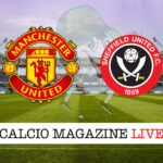 Manchester United Sheffield United cronaca diretta live risultato in tempo reale