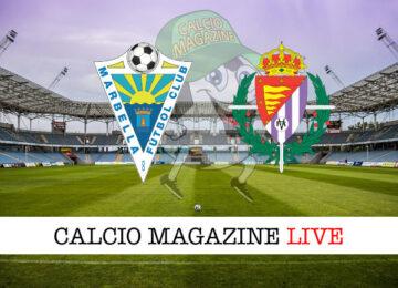 Marbella Valladolid cronaca diretta live risultato in tempo reale