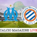 Marsiglia Montpellier cronaca diretta live risultato in tempo reale