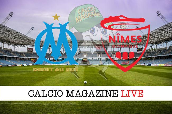 Marsiglia Nimes cronaca diretta live risultato in tempo reale