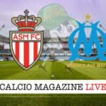 Monaco Marsiglia cronaca diretta live risultato in tempo reale