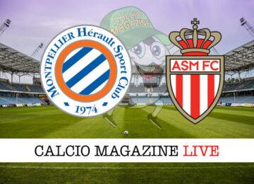Montpellier Monaco cronaca diretta live risultato in tempo reale