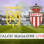 Nantes Monaco cronaca diretta live risultato in tempo reale