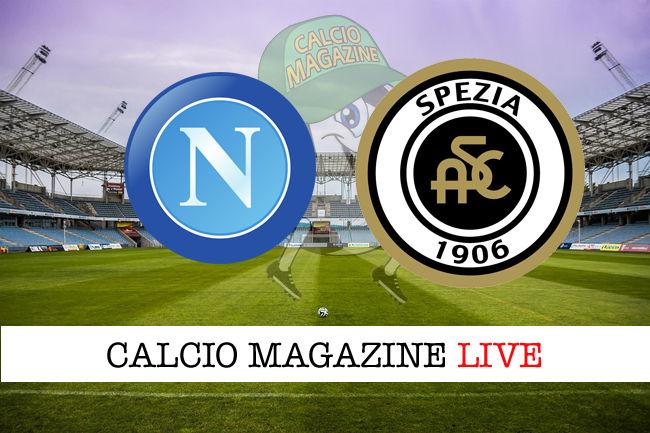 Napoli Spezia cronaca diretta live risultato in tempo reale