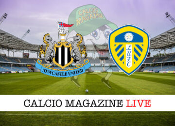 Newcastle Leeds cronaca diretta live risultato in tempo reale