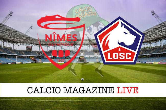 Nimes Lille cronaca diretta live risultato in tempo reale