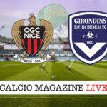 Nizza Bordeaux cronaca diretta live risultato in tempo reale