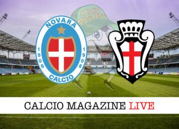 Novara Pro Vercelli cronaca diretta live risultato in tempo reale