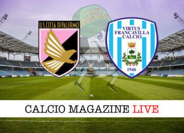 Palermo Virtus Francavilla cronaca diretta live risultato in tempo reale