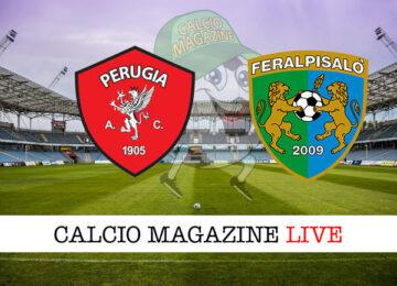 Perugia Feralpisalo cronaca diretta live risultato in tempo reale