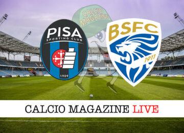 Pisa Brescia cronaca diretta live risultato in tempo reale
