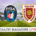 Pisa Reggiana cronaca diretta live risultato in tempo reale