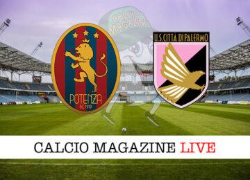 Potenza Palermo cronaca diretta live risultato in tempo reale