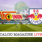 RB Lipsia Union Berlino cronaca diretta live risultato in tempo reale
