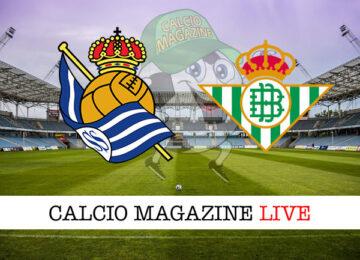 Real Sociedad Betis cronaca diretta live risultato in tempo reale