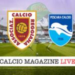 Reggiana Pescara cronaca diretta live risultato in tempo reale