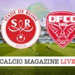 Reims Dijon cronaca diretta live risultato in tempo reale