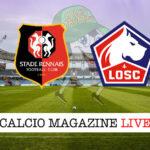 Rennes Lille cronaca diretta live risultato in tempo reale