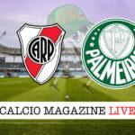 River Plate Palmeiras cronaca diretta live risultato in tempo reale