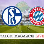 Schalke 04 Bayern Monaco cronaca diretta live risultato in tempo reale