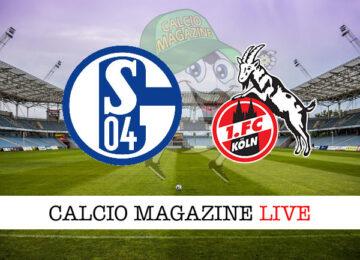 Schalke 04 Colonia cronaca diretta live risultato in tempo reale