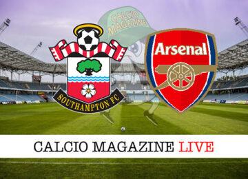 Southampton Arsenal cronaca diretta live risultato in tempo reale