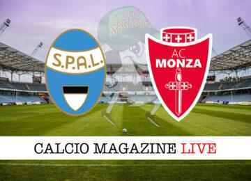 SPAL Monza cronaca diretta live risultato in tempo reale