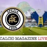 Spezia Hellas Verona cronaca diretta live risultato in tempo reale