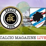 Spezia Sampdoria cronaca diretta live risultato in tempo reale