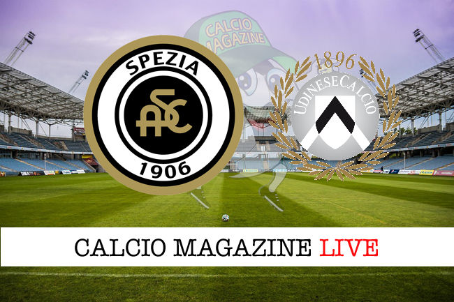 Spezia Udinese cronaca diretta live risultato in tempo reale