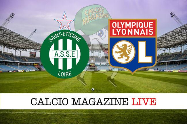 St. Etienne - Lione 0-5: diretta live, risultato in tempo reale