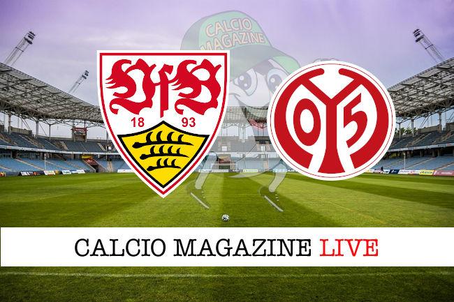 Stoccarda Mainz 05 cronaca diretta live risultato in tempo reale
