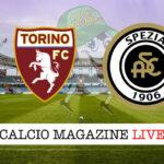 Torino Spezia cronaca diretta live risultato in tempo reale