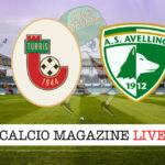 Turris Avellino cronaca diretta live risultato in tempo reale