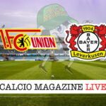 Union Berlino Bayer Leverkusen cronaca diretta live risultato in tempo reale