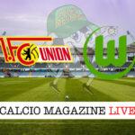 Union Berlino Wolfsburg cronaca diretta live risultato in tempo reale