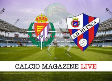 Valladolid Huesca cronaca diretta live risultato in tempo reale