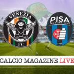 Venezia Pisa cronaca diretta live risultato in tempo reale