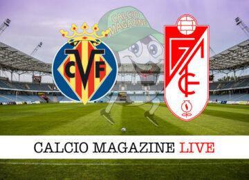 Villarreal Granada cronaca diretta live risultato in tempo reale