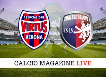 Virtus Verona Imolese cronaca diretta live risultato in tempo reale