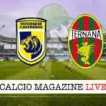 Viterbese Ternana cronaca diretta live risultato in tempo reale