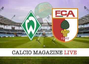 Werder Brema Augusta cronaca diretta live risultato in tempo reale