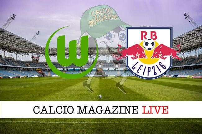 Wolfsburg RB Lipsia cronaca diretta live risultato in tempo reale